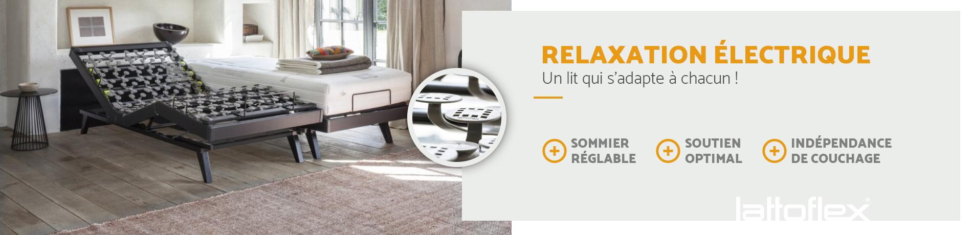 lit de relaxation électrique sur Meximieux
