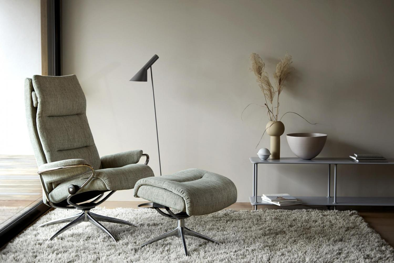 fauteuil stressless Tokyo_high_Silva_Green_