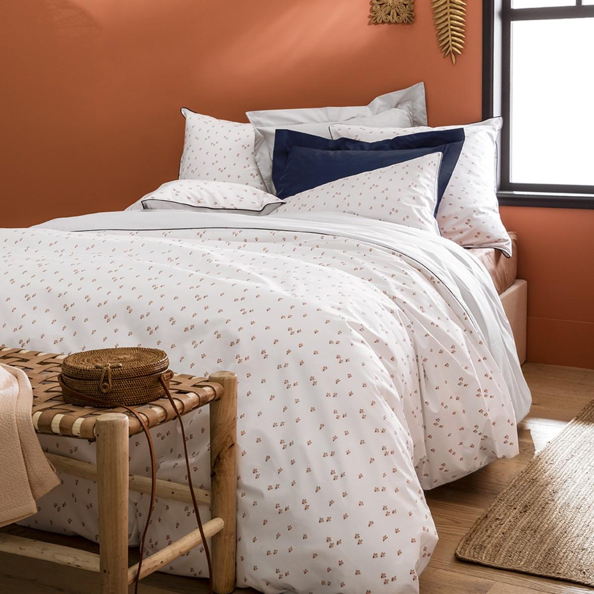 morpheeliterie-essix-parure-de-lit-haut-de-gamme-recif-percale-de-coton-blanc-motif-corail-ambiance